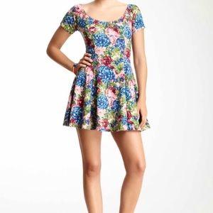 Floral RVCA Mini Dress